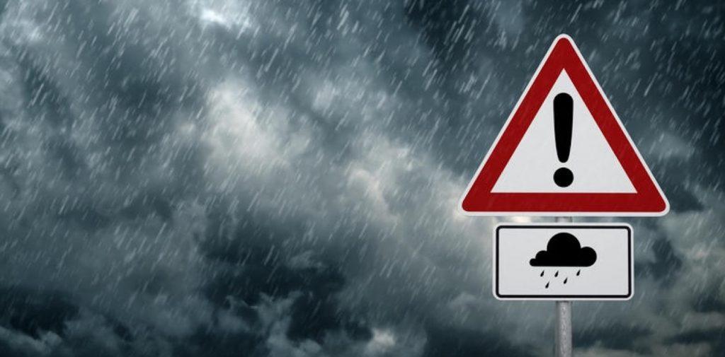 Έρχονται ισχυρές βροχές και καταιγίδες
