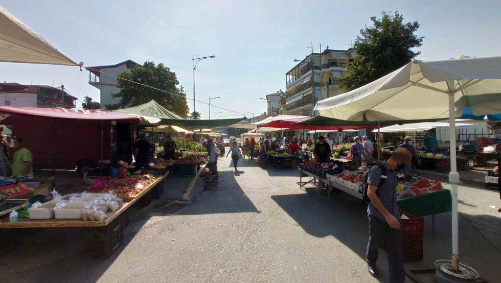 Κατερίνη | Εκτάκτως την Παρασκευή η λαϊκή αγορά του Σαββάτου