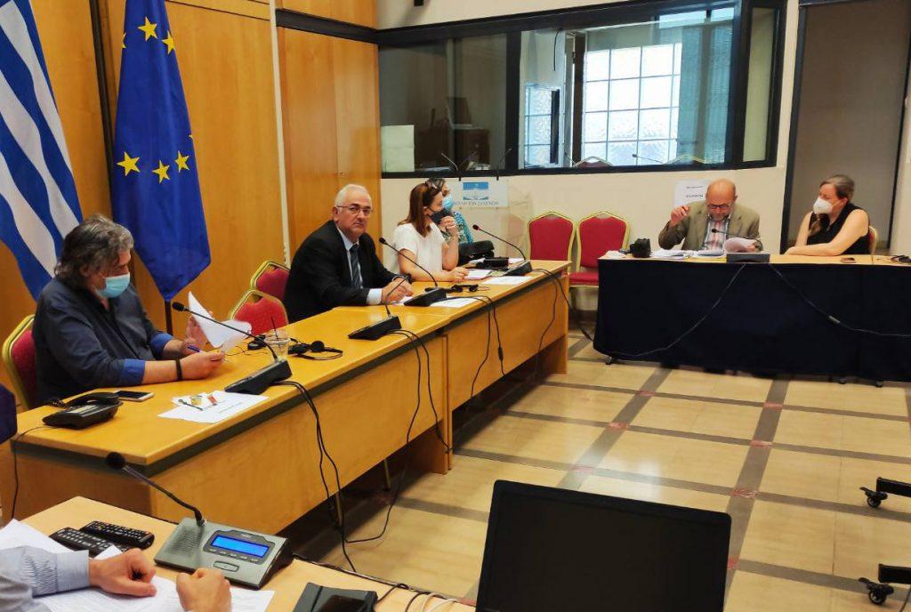 Ο Σ. Χιονίδης για την έγκριση των όρων του διαγωνισμού αναπαλαίωσης του διατηρητέου κτιρίου στην οδό Φιλελλήνων
