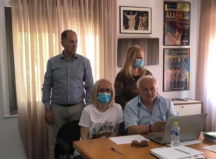 Εθιμοτυπική επίσκεψη της Εστίας Πιερίδων Μουσών στον ΟΡ.ΦΕ.Ο.