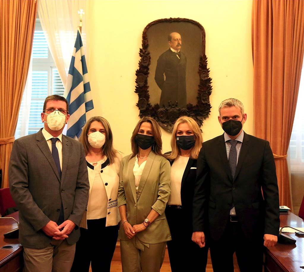 Μάνη   Η Πιερία στο επίκεντρο της συνάντησης με την Υπουργό Τουρισμού του Ισραήλ