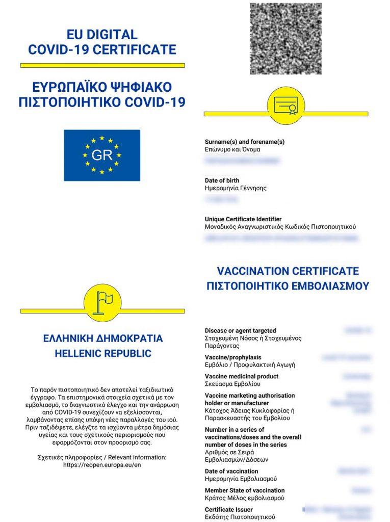 Ψηφιακό πιστοποιητικό Covid | «Πέρασε» από το Ευρωπαϊκό Κοινοβούλιο ο κανονισμός