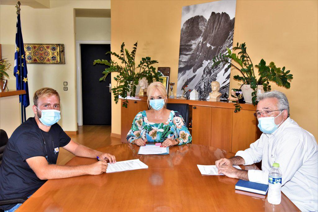 Π.Ε. Πιερίας | «Καθαρισμός ρέματος στην περιμετρική τάφρο Κατερίνης»