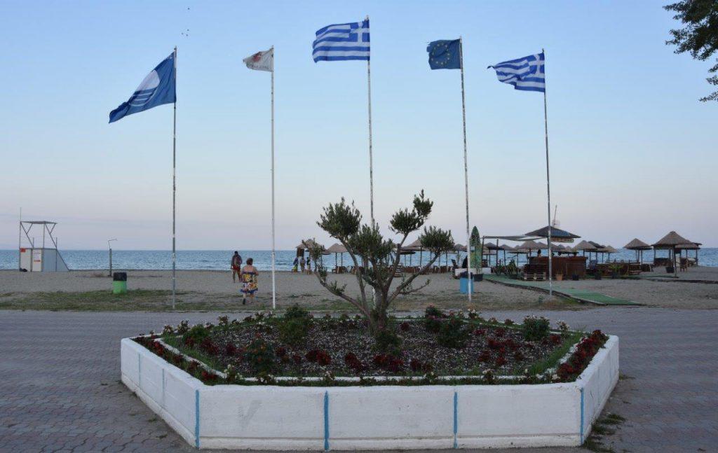 Κατερίνη   Τσιαμπέρας: Γαλάζιες σημαίες ΤΕΛΟΣ για τις ακτές μας...