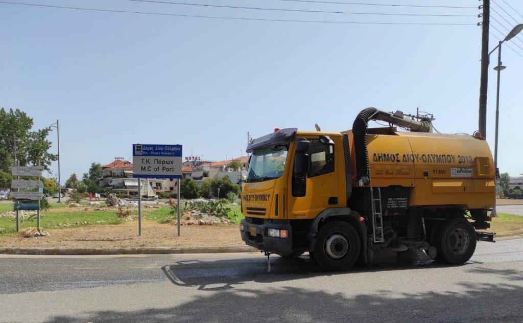 Δίου-Ολύμπου   Εντατικές οι εργασίες καθαριότητας και ευπρεπισμού των 12 Κοινοτήτων από την Αντιδημαρχία Καθημερινότητας