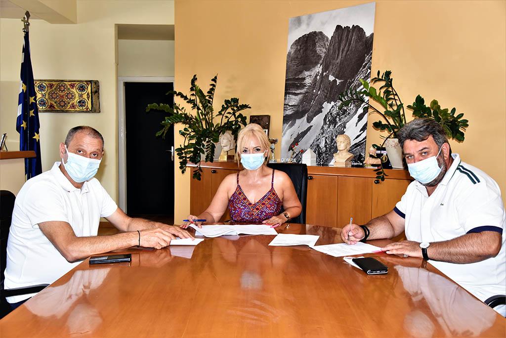 Π.Ε. Πιερίας | Γεώτρηση για την ύδρευση του Τριλόφου
