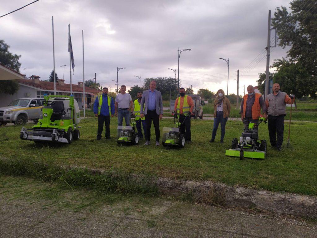 Δήμος Κατερίνης   Νέα χορτοκοπτικά μηχανήματα στην Υπηρεσία Πρασίνου - Ενισχύεται ο εξοπλισμός για τις καθημερινές εργασίες συντήρησης