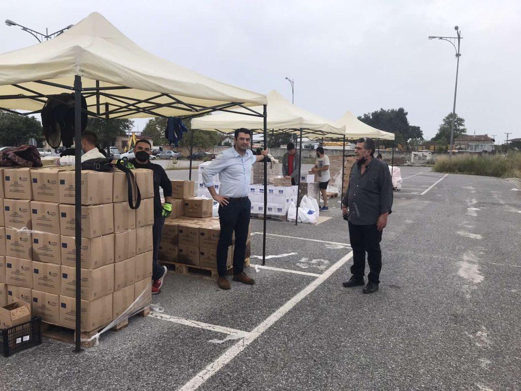 Δήμος Κατερίνης | Ξεκίνησε στην Ανδρομάχη η διανομή προϊόντων στους δικαιούχους του ΚΕΑ-TEBA