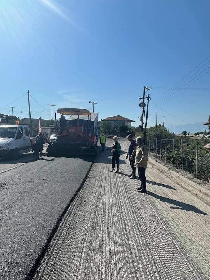 Με συνεχιζόμενο έργο η αναβάθμιση του οδικού δικτύου ευθύνης της ΠΚΜ – ΠΕ Πιερίας