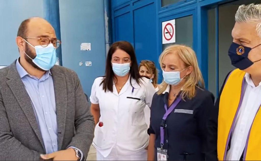 To Lions Club Κατερίνης παρέδωσε 13 αμαξίδια μεταφοράς ασθενών στο νοσοκομείο Κατερίνης