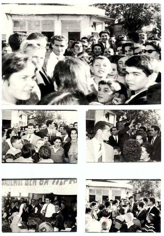 Άξιον Εστί | O Μίκης Θεοδωράκης το 1965 στο Λιτόχωρο και το 1999 στην Κατερίνη