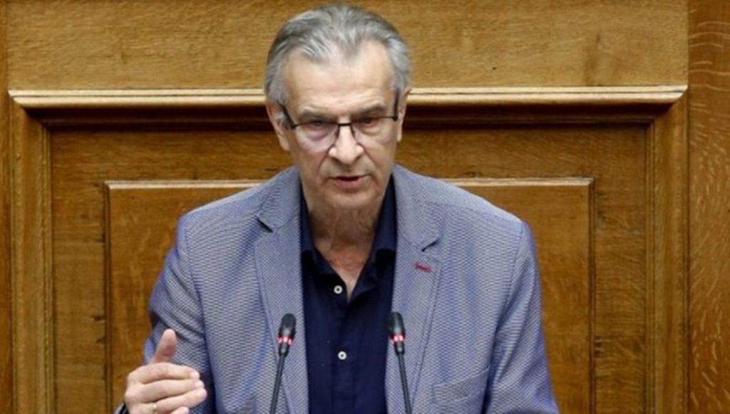 Πέθανε ο Τάσος Κουράκης πρώην υπουργός και βουλευτής του ΣΥΡΙΖΑ