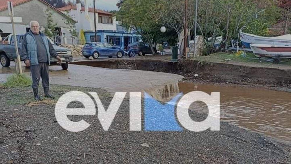 Βόρεια Εύβοια | Μεγάλες καταστροφές από τις πλημμύρες της χθεσινής βροχόπτωσης