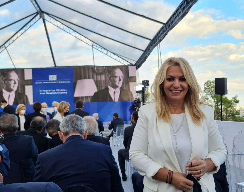 Μάνη   Στην εκδήλωση του Ιδρύματος «Κωνσταντίνος Γ. Καραμανλής»