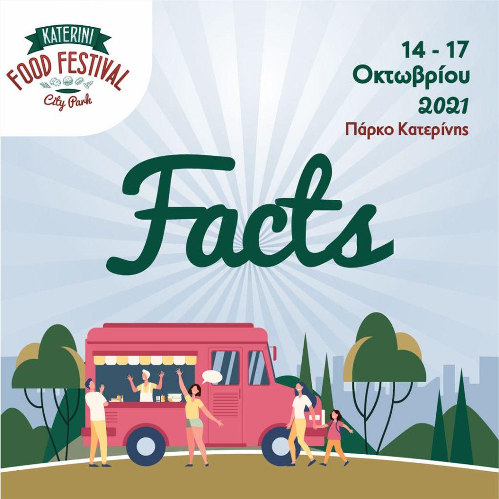 Αναβάλλεται λόγω καιρού το «Katerini Food Festival / City Park»