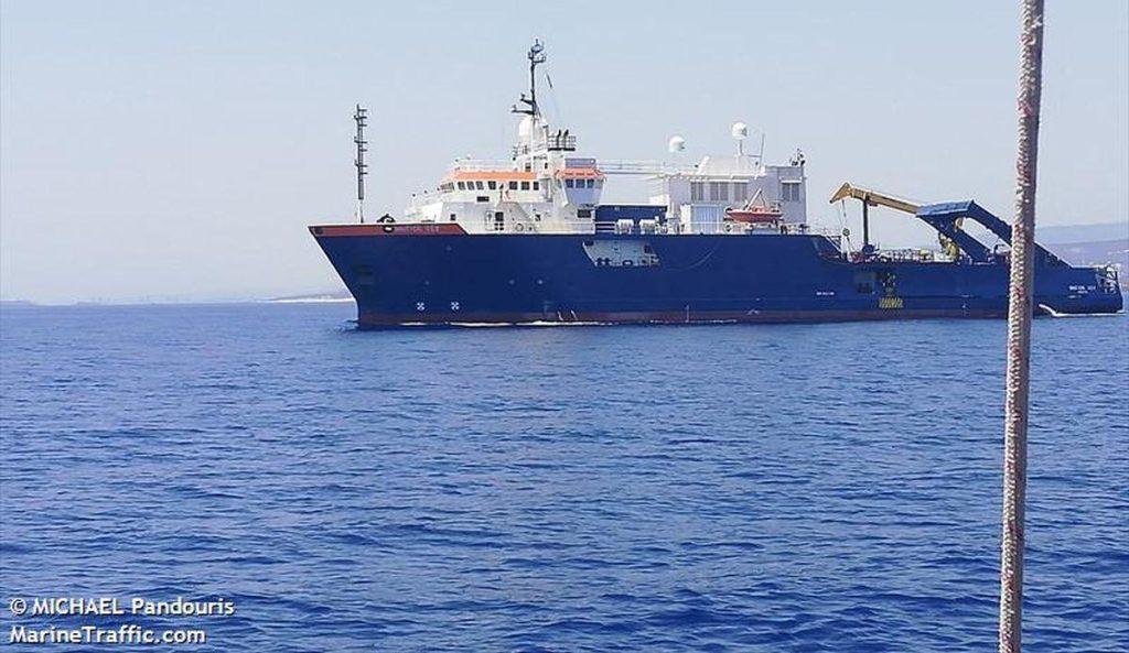 Τουρκικές φρεγάτες έδιωξαν το Nautical Geo – Ανενόχλητο το Ορουτς Ρέις - Υπό τουρκική ομηρία η περιοχή